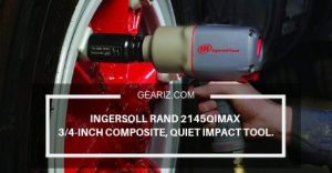 INGERSOLL RAND 2145QIMAX 3_4-INCH COMPOSITE, QUIET IMPACT TOOL FEATURE IMAGE