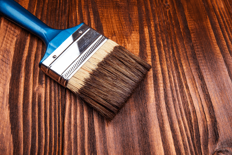 A topcoat it will give a better coating for stains and wood