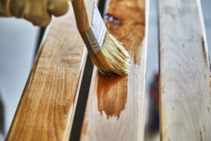 how to paint over polyurethane without sanding