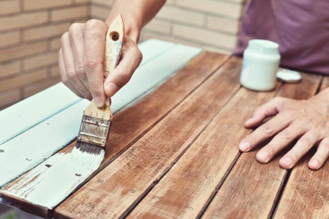 Can I Paint Over Stain Without Sanding