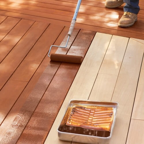 When Is The Best Time To Stain A Deck