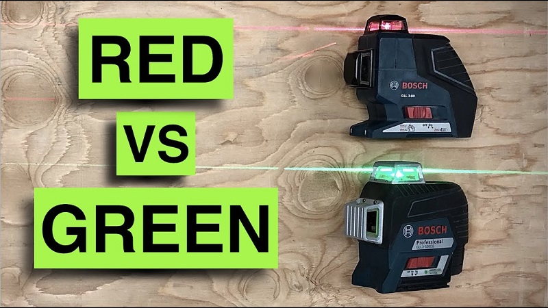 Green Vs Red Laser Level: Which One Is Better?