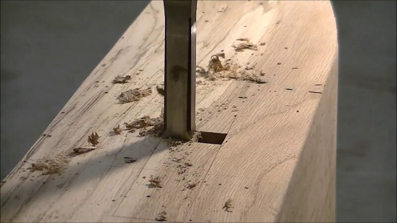 How to Cut a Square Hole in Wood 2