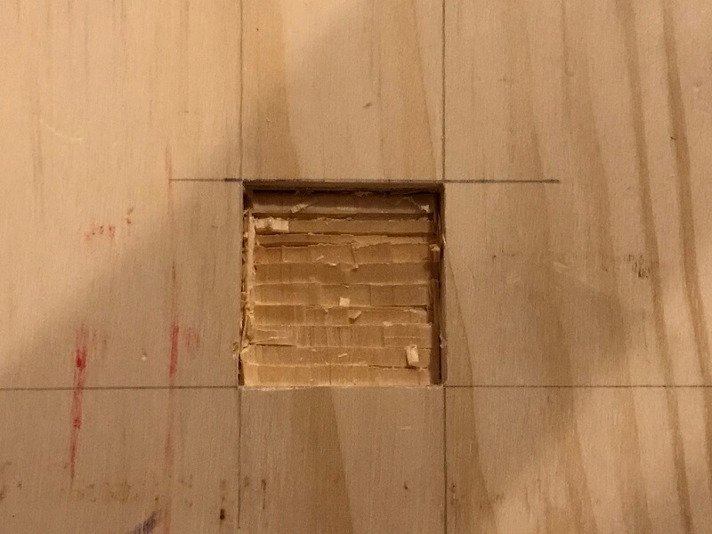 How to Cut a Square Hole in Wood 3