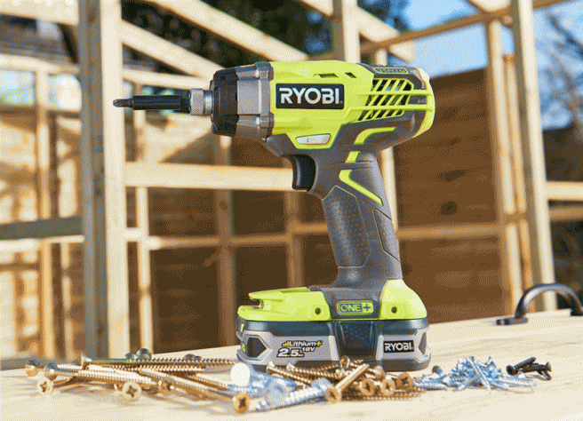 Impact drivers can't work well with short screws
