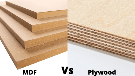 MDF is easier to paint than plywood