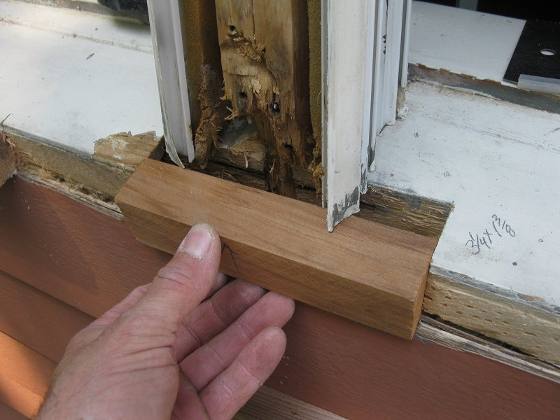 How to Repair Rotted Wood?