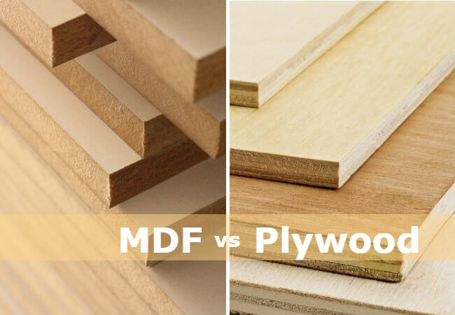 Solid wood is more durable than MDF