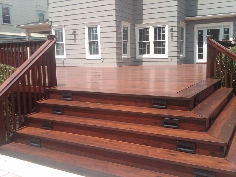 When To Stain A New Deck