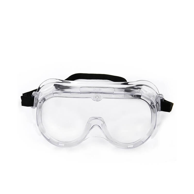 You should use goggles to protect your eyes