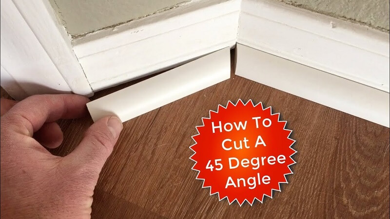 How To Cut Quarter Round Outside Corner