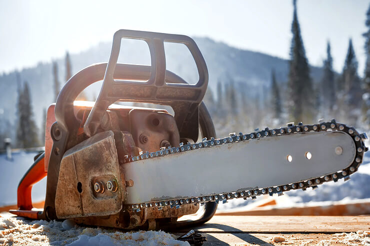 How To Clean A Chainsaw 1