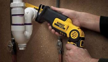A reciprocating saw will be an effective solution for your home's plumbing system