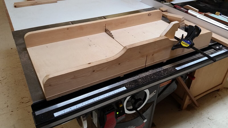 The table saw can work faster