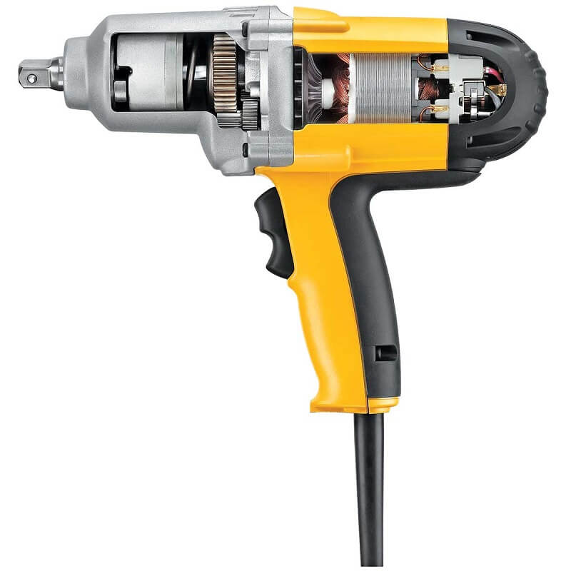 Inside an impact wrench