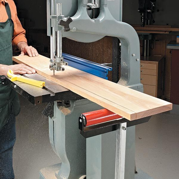 Using a band saw is safer