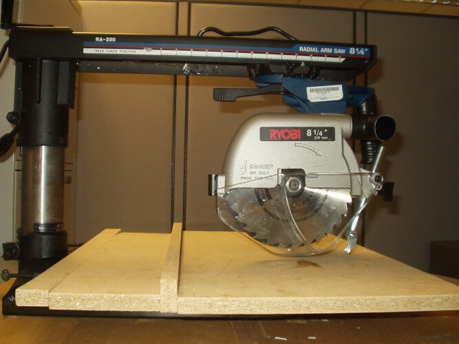 Radial saws are portable