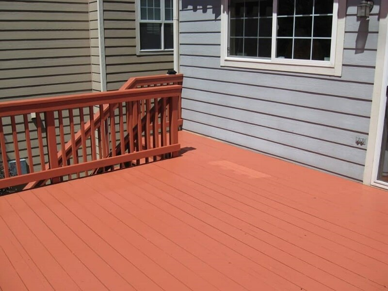 How To Restain A Deck Without Stripping Is Easy