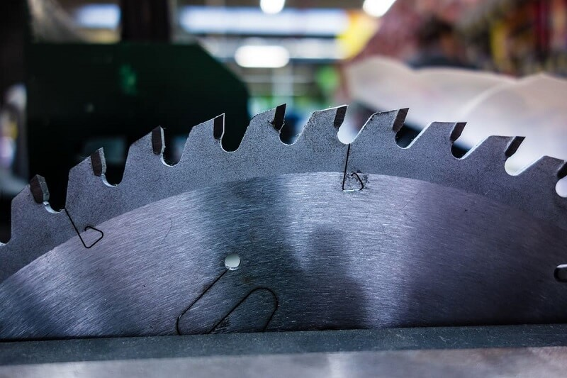 Sharpen table saw blades as soon as they show signs of dullness
