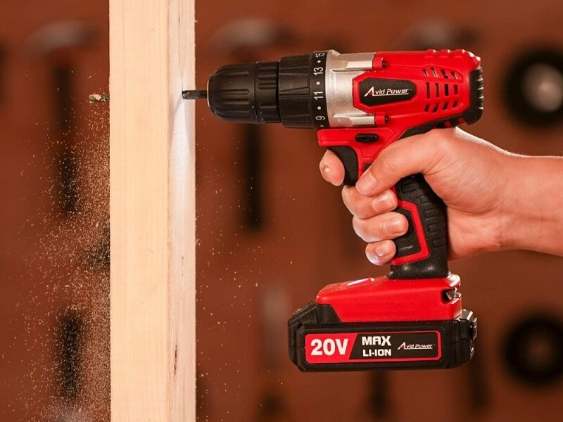 Drill is a tool that helps you drill holes in materials