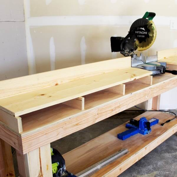 How to build a miter saw table 4