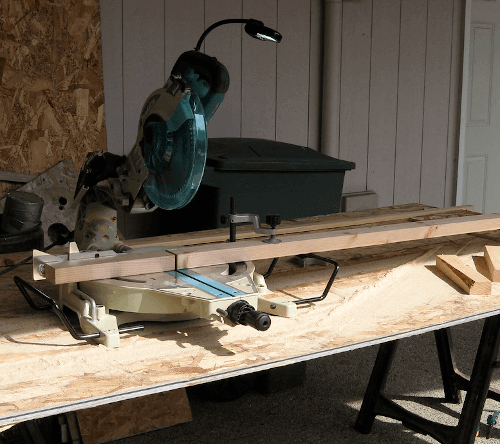 How to build a miter saw table 1