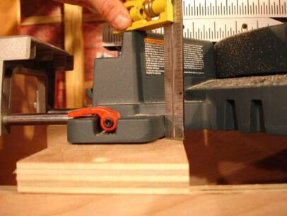 How to build a miter saw table 3