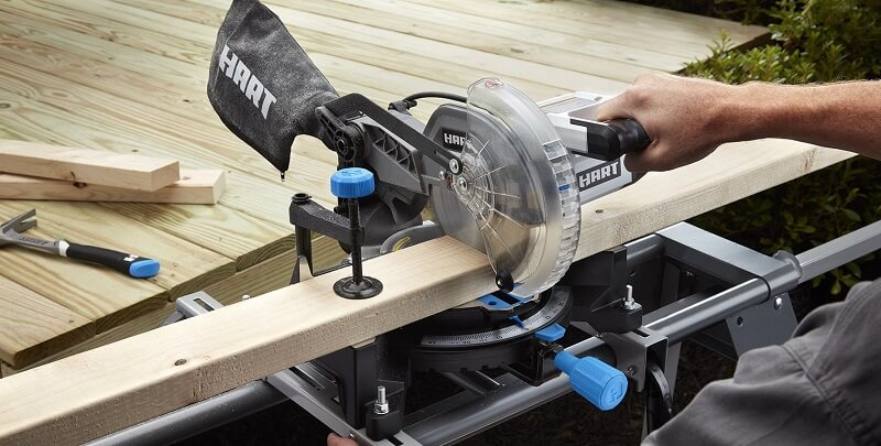 You can move miter saw anywhere you want