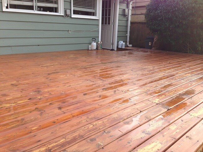 Removing old stain before restaining is necessary