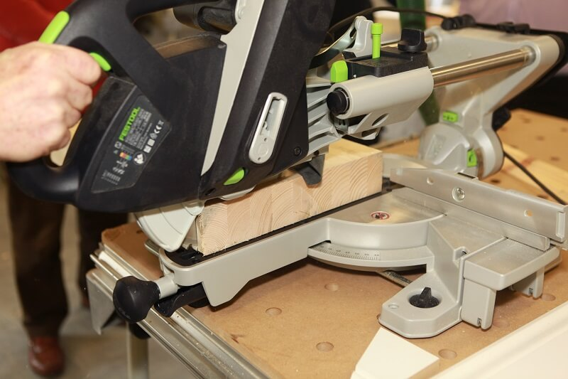 how to cut wide boards with miter saw 2