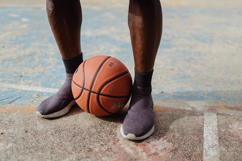 Cleaning the court is a great way to get a better grip on basketball shoes