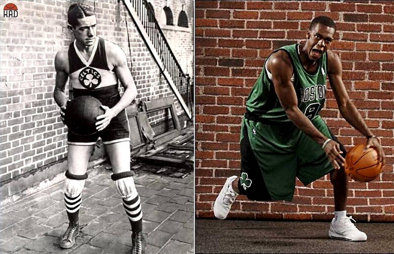 Basketball then and now