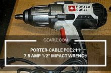 Porter-Cable PCE211 7.5 Amp Impact Wrench Review